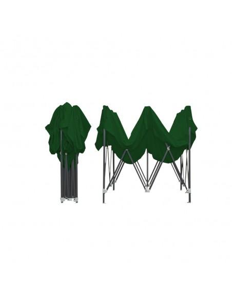 Barnum Acier Semi Pro Vert 3x3m plié