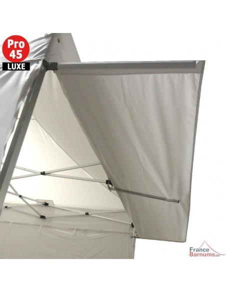 Casquette extension soleil de 4,5m pour barnum pliant Alu Pro 45 LUXE