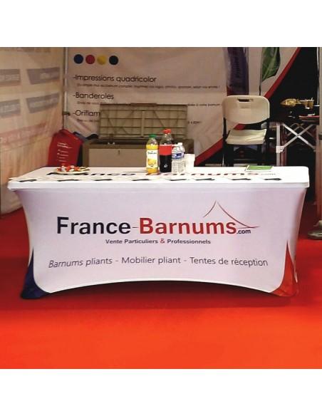 Housse en lycra imprimée France-Barnums.com