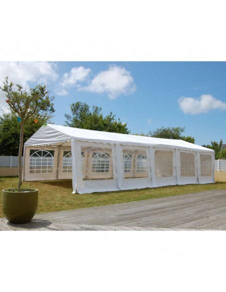 Tente de réception - Chapiteau MEDIUM en PVC de 4m x 10m avec Tubes de 38mm