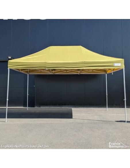 barnum pliant pro vert doré avec murs en option