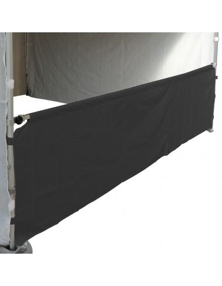 Demi-mur de 4,5m en PVC 580gr/m² pur barnum pliant