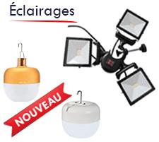 lampe led usb à accrocher sous votre barnum